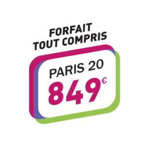 Forfait tous compris Permis 849€ Paris