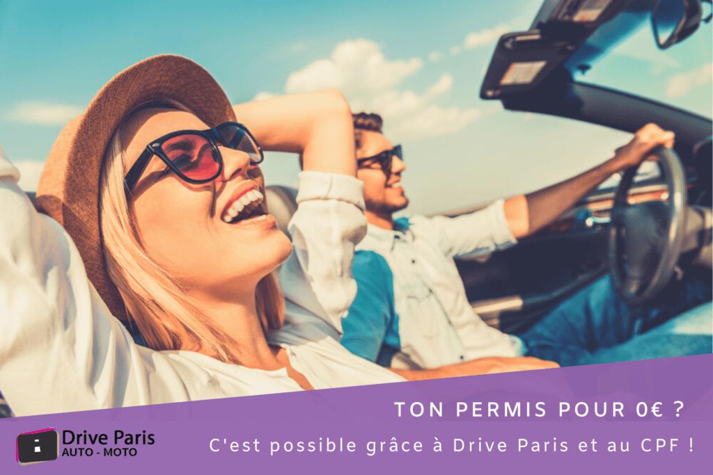 CPF Permis Paris