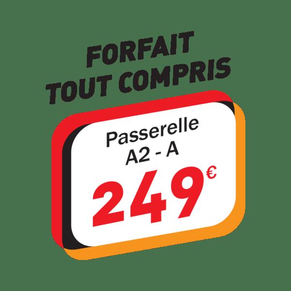 Passerelle A2 – A