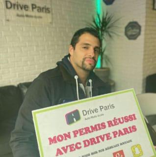 Permis réussi avec Drive Paris
