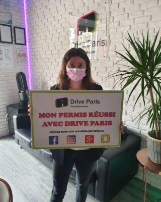 Félicitations Clothide ! ✨ #driveparis #autoecole #permis #permisdeconduire